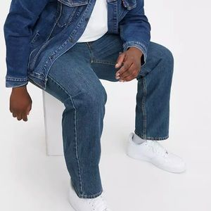 New Levi's 550relaxed tapered leg jeans 50x29